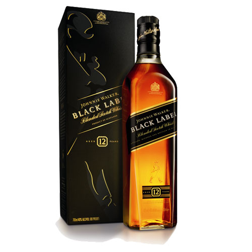 "Виски ""Johnnie Walker"" Black Label  0.750 кг"