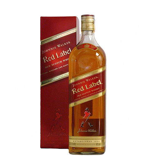 "Виски ""Johnnie Walker"" Red Label  1.000 кг"