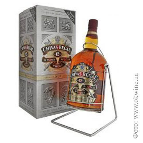 "Виски ""Chivas Regal"" 12*  4.500 кг"