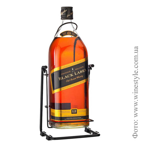 "Виски ""Johnnie Walker"" Black Label  4.500 кг"