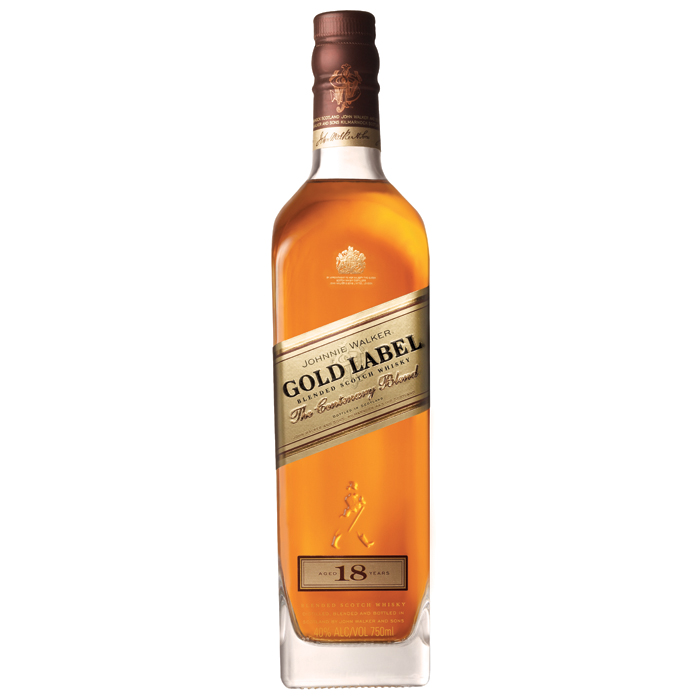 "Виски ""Johnnie Walker"" Gold Label  0.750 кг"