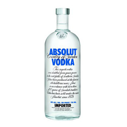"Водка ""Absolut""  Blue 0.700 кг"