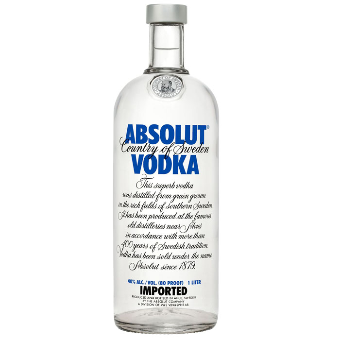 "Водка ""Absolut""  Blue 1.000 кг"